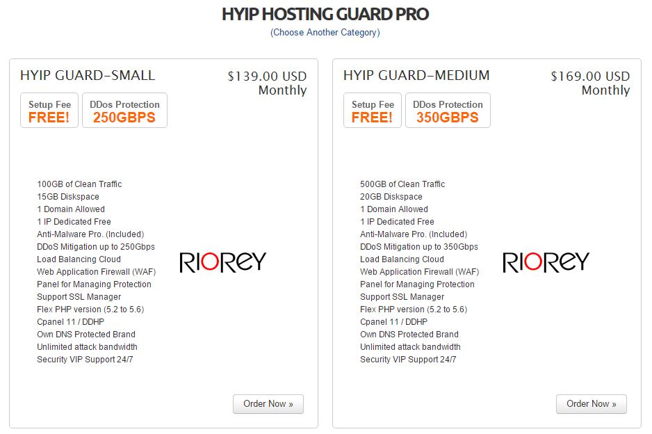 plans hyip hosting 3.0